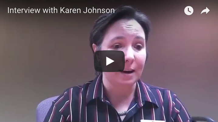 Interview with Karen Johnson