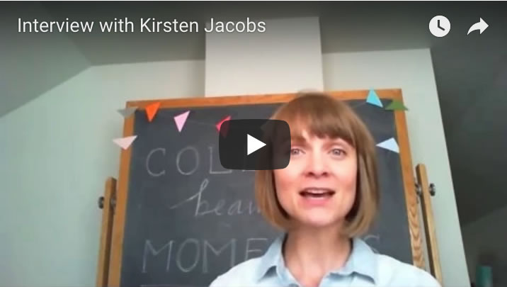 Interview with Kirsten Jacobs